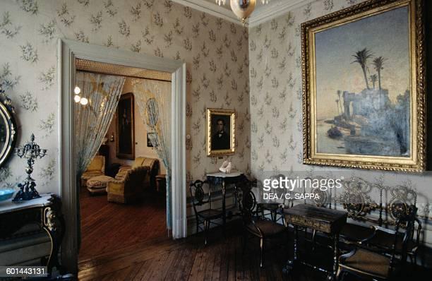 Room in the Museum of Romanticism, Madrid, Spain.