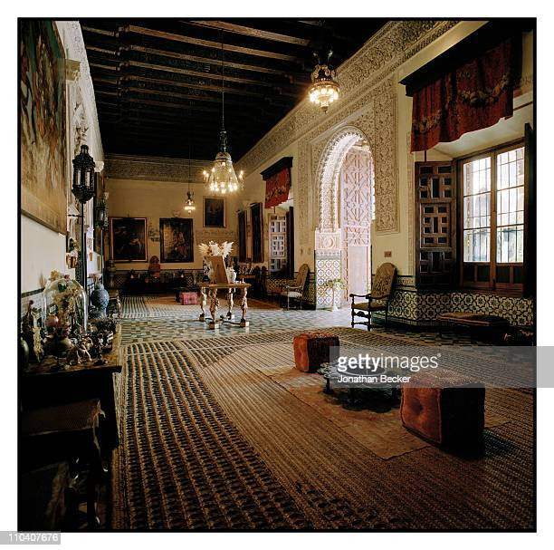 A room in the Palacio de Duenas is photographed for Vogue Espana on March 1517 2010 in Seville Spain