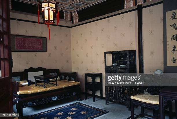 Room in the Reception hall building Prince Gong's Palace Beijing China 18th century