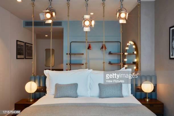 Room interior Indigo Hotel Leicester Square London United Kingdom Architect Michaelis Boyd Associates Ltd 2018