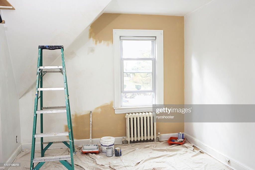 Room renovation : Stock Photo