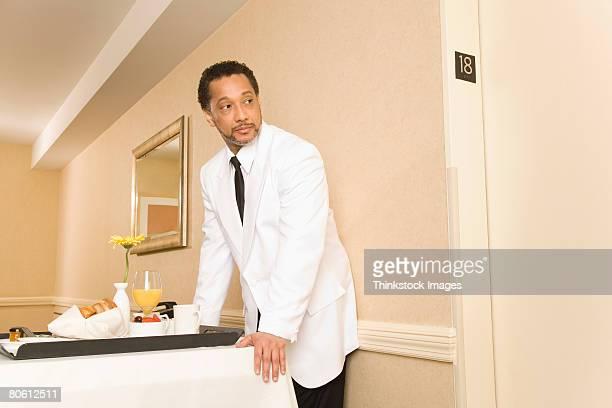 Room service waiter