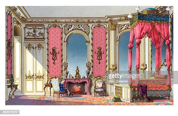 A Room To Sleep In Illustration from 18th Century Institutions Usages And Costumes France 17001789 by Paul Lacroix