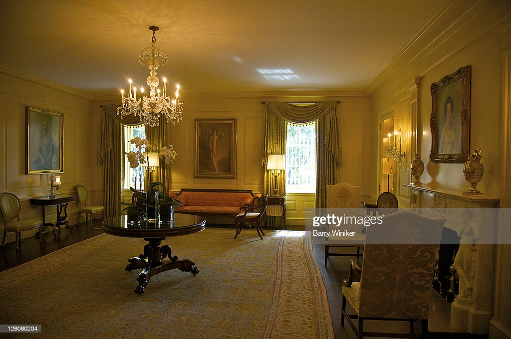 living room portraits. Room with portraits of First Ladies  The White House Washington D C U S A With Portraits Of Dc