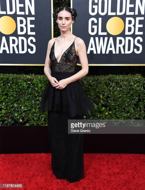 Rooney Mara arrives at the 77th Annual Golden Globe Awards attends the 77th Annual Golden Globe Awards at The Beverly Hilton Hotel on January 05,...