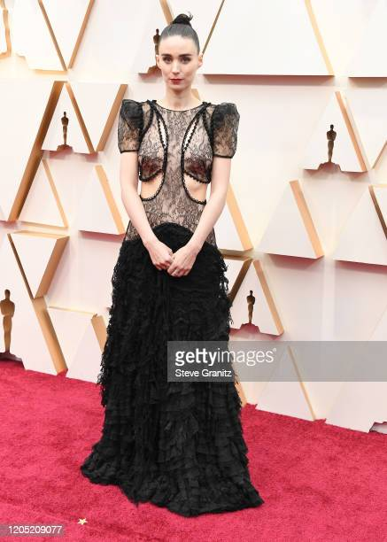 Rooney Mara arrives at the 92nd Annual Academy Awards at Hollywood and Highland on February 09 2020 in Hollywood California