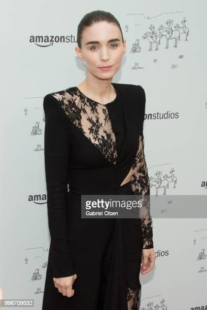 Rooney Mara arrives to the Amazon Studios premiere of 'Don't Worry He Wont Get Far On Foot' at ArcLight Hollywood on July 11 2018 in Hollywood...