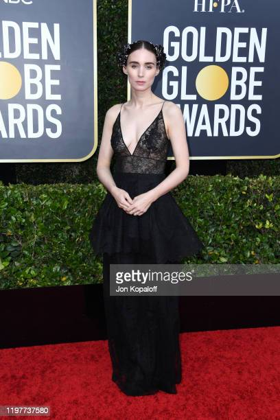 Rooney Mara attends the 77th Annual Golden Globe Awards at The Beverly Hilton Hotel on January 05, 2020 in Beverly Hills, California.