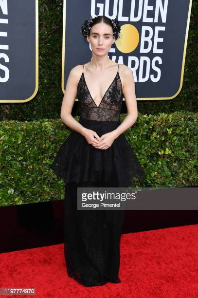 Rooney Mara attends the 77th Annual Golden Globe Awards at The Beverly Hilton Hotel on January 05 2020 in Beverly Hills California