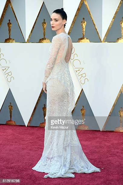 Rooney Mara attends the 88th Annual Academy Awards at Hollywood Highland Center on February 28 2016 in Hollywood California