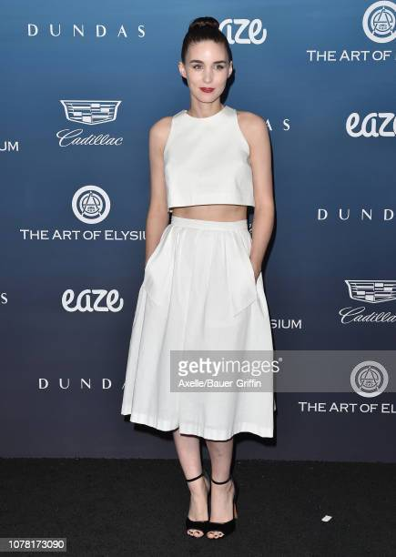 Rooney Mara attends The Art of Elysium's 12th Annual Celebration Heaven on January 5 2019 in Los Angeles California