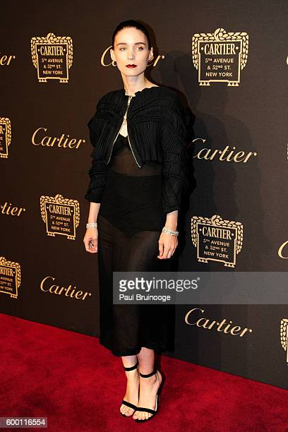 Rooney Mara attends the Cartier Fetes the Grand Opening of The Fifth Avenue Mansion at Cartier Mansion on SEPTEMBER 7 2016 in New York City
