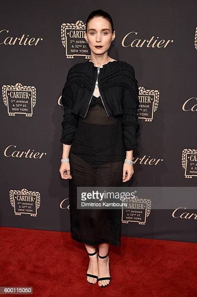 Rooney Mara attends the Cartier Fifth Avenue Grand Reopening Event at the Cartier Mansion on September 7 2016 in New York City