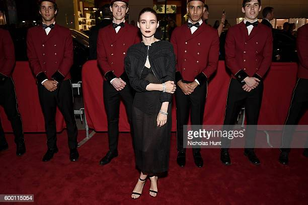 Rooney Mara attends the Cartier Fifth Avenue Grand Reopening Event at the Cartier Mansion on September 7, 2016 in New York City.