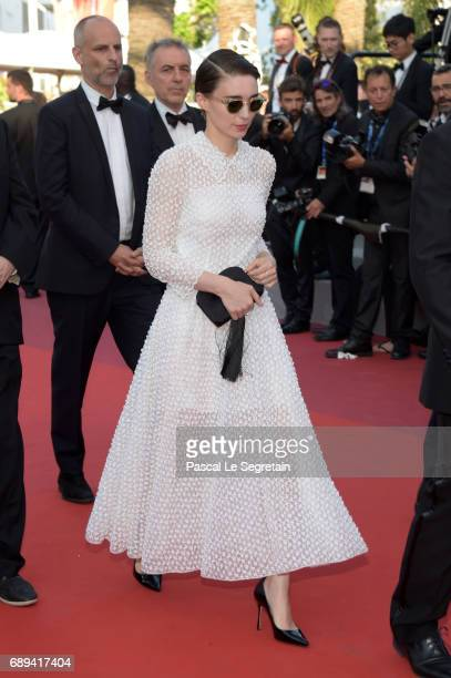 Rooney Mara attends the Closing Ceremony of the 70th annual Cannes Film Festival at Palais des Festivals on May 28 2017 in Cannes France