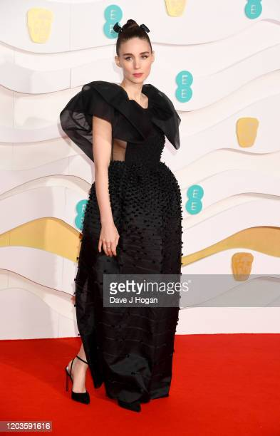 Rooney Mara attends the EE British Academy Film Awards 2020 at Royal Albert Hall on February 02 2020 in London England