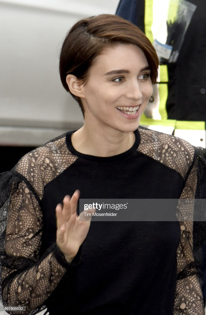 Rooney Mara attends the Film Premiere of 'Song to Song' at The Paramout Theater on March 10, 2017 in Austin, Texas.