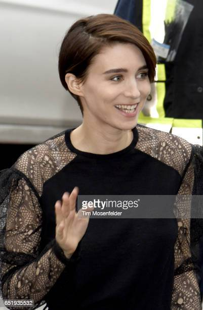 Rooney Mara attends the Film Premiere of 'Song to Song' at The Paramout Theater on March 10 2017 in Austin Texas