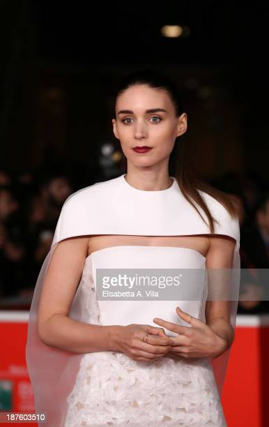 Rooney Mara attends the 'Her' Premiere during The 8th Rome Film Festival on November 10 2013 in Rome Italy