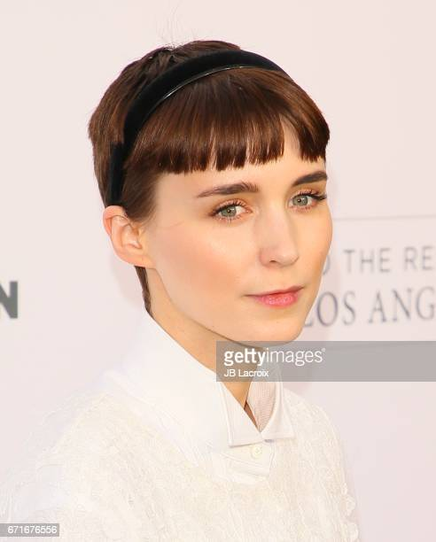 Rooney Mara attends the Humane Society of The United States' Annual To The Rescue Los Angeles Benefit on April 22 2017 in Hollywood California