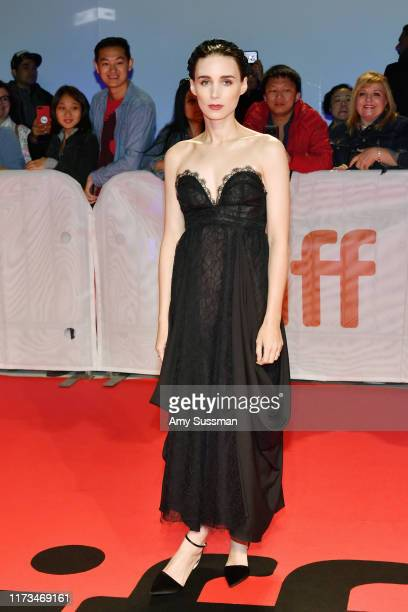 Rooney Mara attends the Joker premiere during the 2019 Toronto International Film Festival at Roy Thomson Hall on September 09 2019 in Toronto Canada