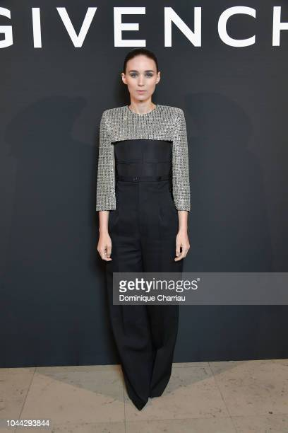 Rooney Mara attends the L'Interdit Givenchy Photocall as part of the Paris Fashion Week Womenswear Spring/Summer 2019 on October 1 2018 in Paris...