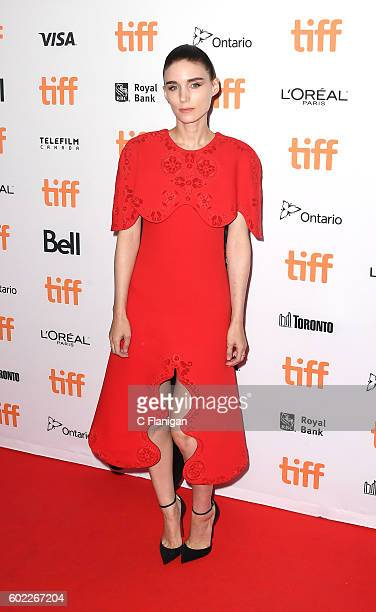 Rooney Mara attends the 'Lion' premiere during the 2016 Toronto International Film Festival at Princess of Wales Theatre on September 10 2016 in...