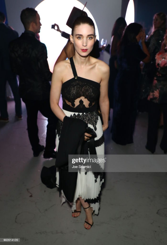 Rooney Mara attends the Moet Hennessy John Legend's HEAVEN with the Art of Elysium at Barker Hangar on January 6, 2018 in Santa Monica, California.