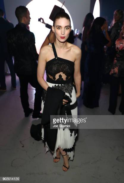 Rooney Mara attends the Moet Hennessy John Legend's HEAVEN with the Art of Elysium at Barker Hangar on January 6 2018 in Santa Monica California
