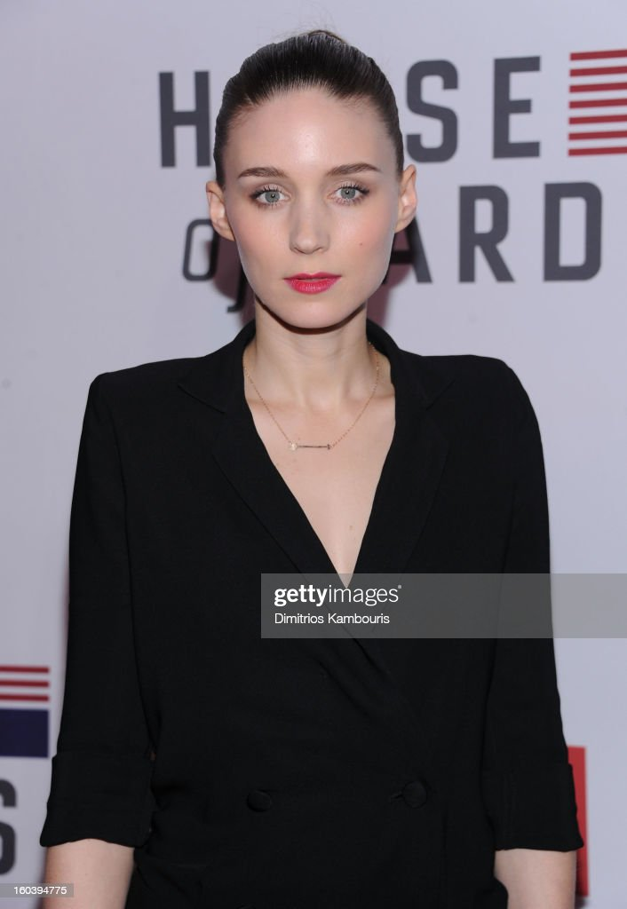 Rooney Mara attends the Netflix's 'House Of Cards' New York Premiere at Alice Tully Hall on January 30, 2013 in New York City.
