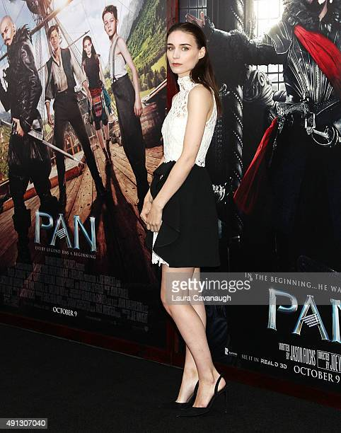 Rooney Mara attends the Pan New York Premiere Outside Arrivals at Ziegfeld Theater on October 4 2015 in New York City