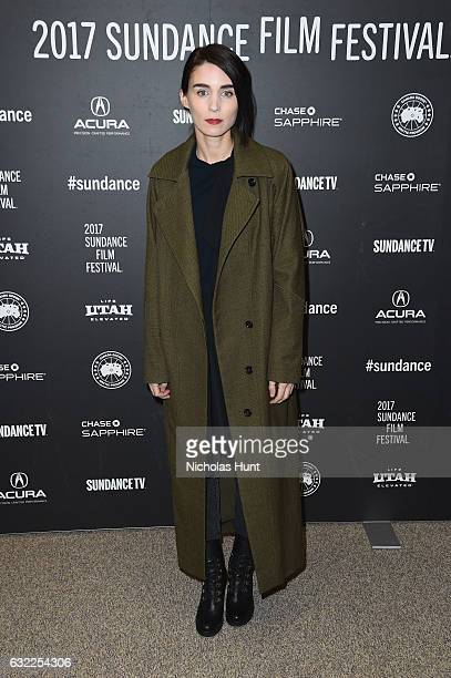 Rooney Mara attends the 'The Discovery' premiere during day 2 of the 2017 Sundance Film Festival at Eccles Center Theatre on January 20 2017 in Park...