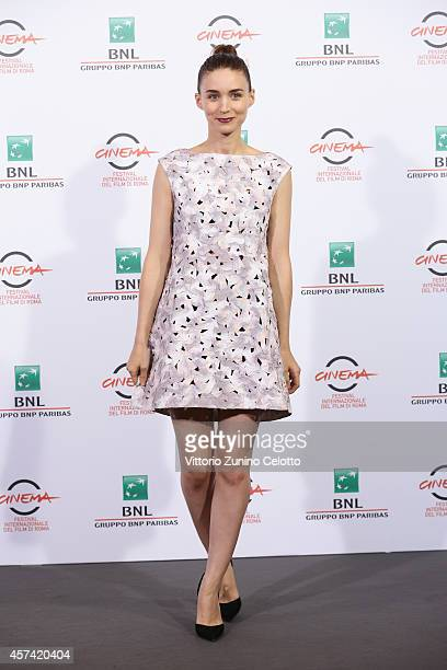 Rooney Mara attends the 'Trash' Photocall during the 9th Rome Film Festival on October 18 2014 in Rome Italy