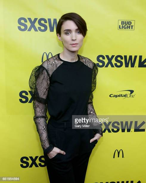 Rooney Mara attends the world premeire of Terrence Malick's new film Song to Song at the Paramount Theater during the South By Southwest Film...