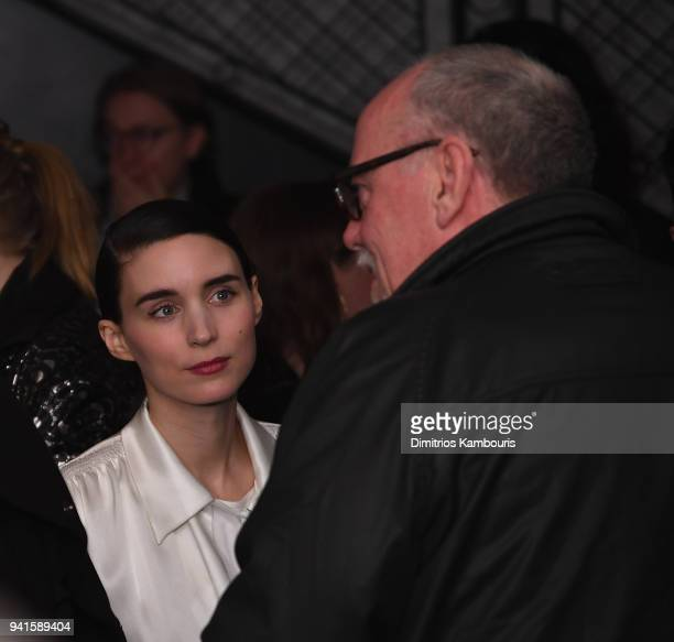 Rooney Mara attends 'You Were Never Really Here' New York Premiere at Metrograph on April 3 2018 in New York City
