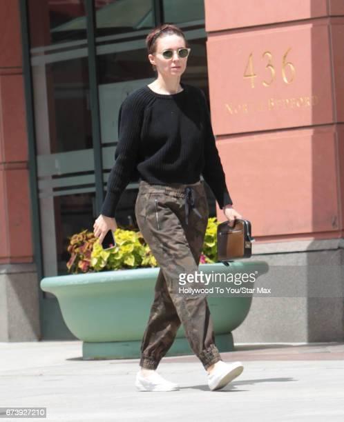 Rooney Mara is seen on April 26 2017 in Los Angeles California
