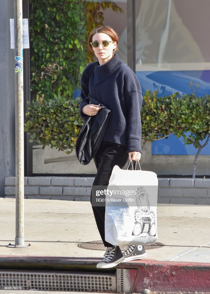 Rooney Mara is seen on January 02, 2018 in Los Angeles, California.