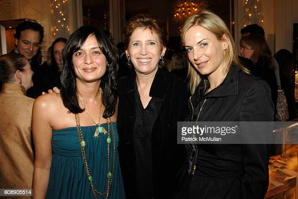 Roopal Patel Beth Rudin DeWoody and Manon Youdale attend HOUSE GARDEN host reception for TONY DUQUETTE by WENDY GOODMAN and HUTTON WILKINSON at...
