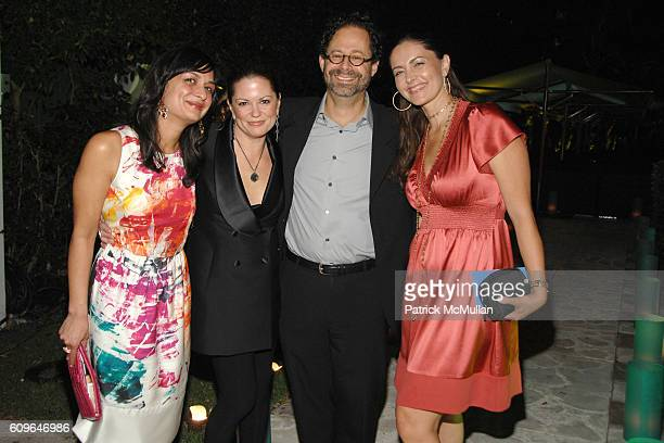 Roopal Patel Carol Pennelli Adam Weinberg and Maria Valim attend DAVID YURMAN and THE WHITNEY MUSEUM host 'OUT OF THE ARCHIVES' at The Sagamore on...