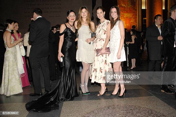 Roopal Patel Sylvana SotoWard Melissa Skoog and Annie Churchill attend THE AMERICAN MUSEUM OF NATURAL HISTORY Winter Dance Sponsored by ROBERTO...