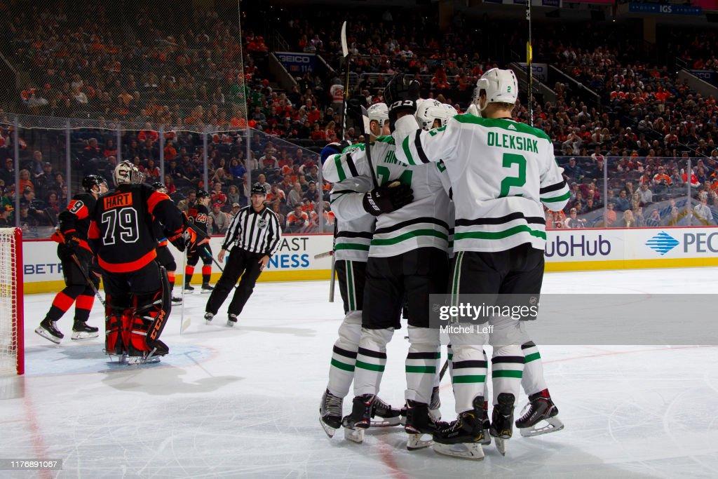 Dallas Stars v Philadelphia Flyers : Foto jornalística
