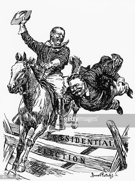 theodore roosevelt political cartoons stock photos and pictures
