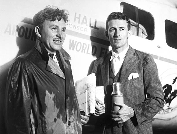 UNS: 1st July 1931 - Wiley Post and Harry Gatty Complete The First Round-The-World Flight