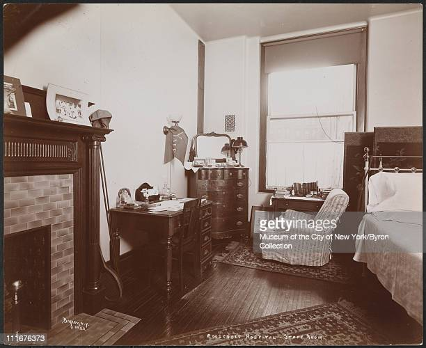 Roosevelt Hospital Staff Room New York New York late 1890s
