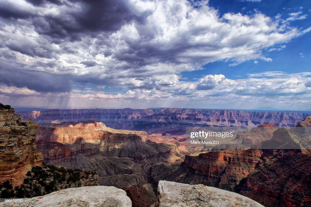 Roosevelt Point at Grand Canyon North Rim : Stock-Foto