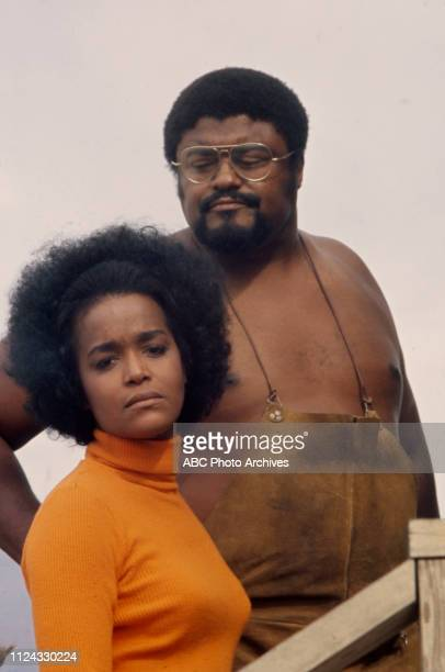 Roosevelt / Rosey Grier Emily Yancy appearing in the Walt Disney Television via Getty Images tv movie 'Second Chance'