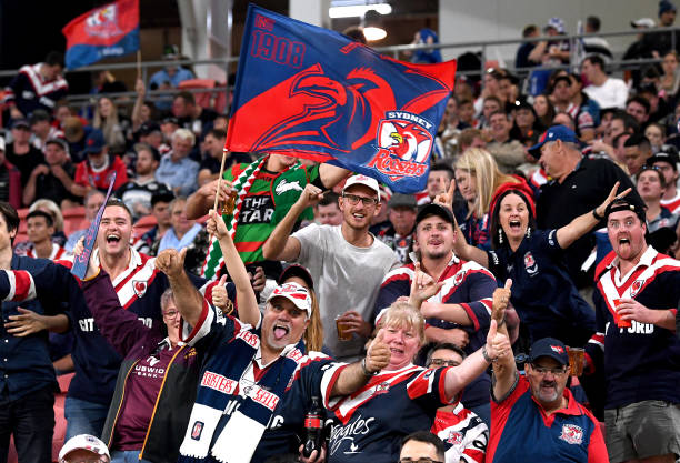 AUS: NRL Rd 10 - Roosters v Cowboys
