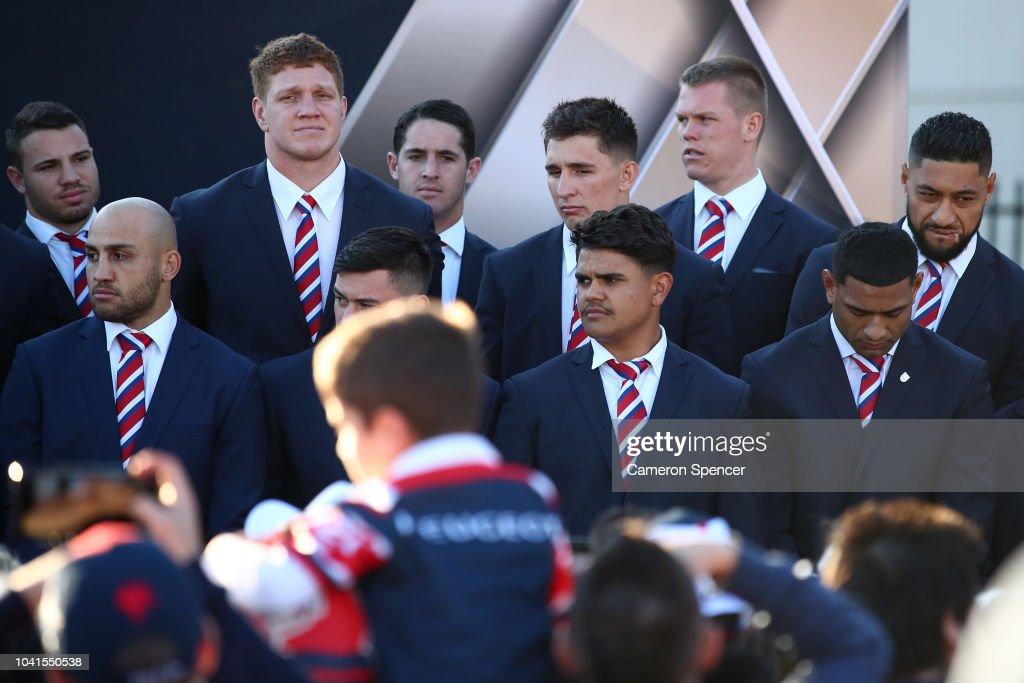 2018 NRL Grand Final Fan Day : News Photo