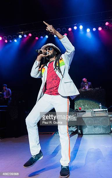 Rootz Steele of Thievery Corporation performs onstage at The Greek Theatre on September 27 2014 in Los Angeles California