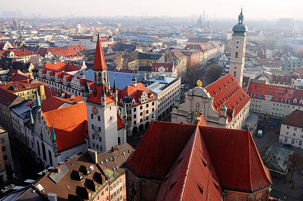 Rooves of Munich